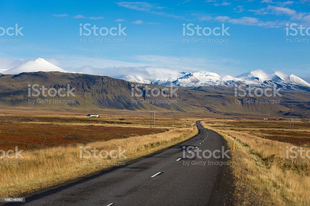 Iceland national park stock photo