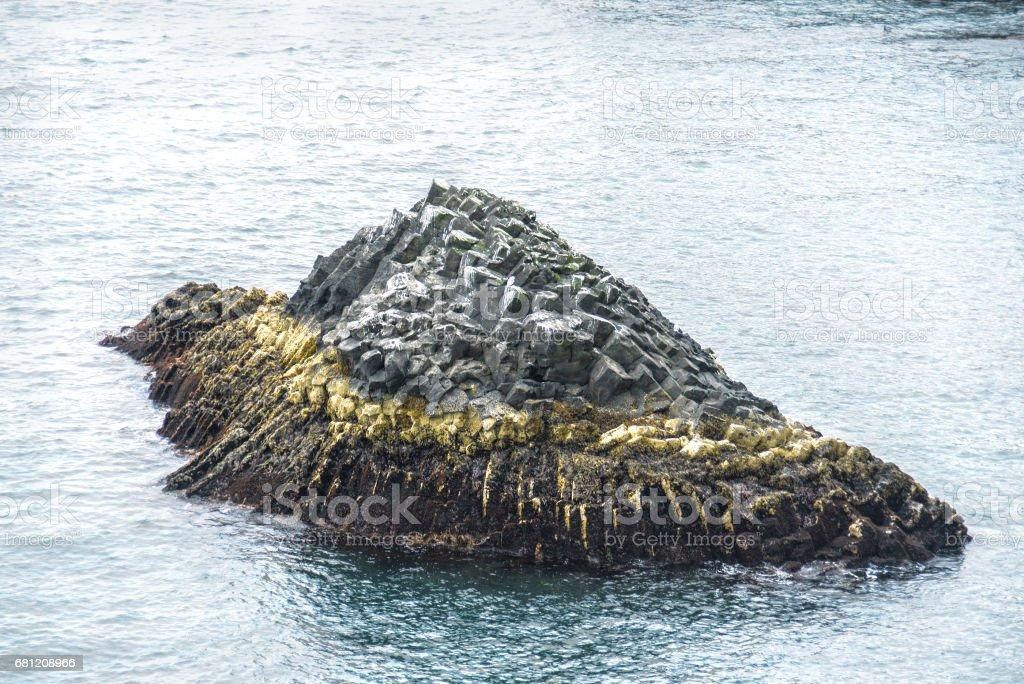 Iceland ocean coast royalty-free stock photo