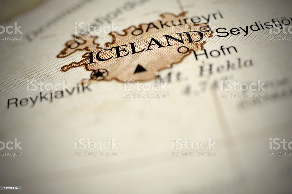 Iceland royalty-free stock photo