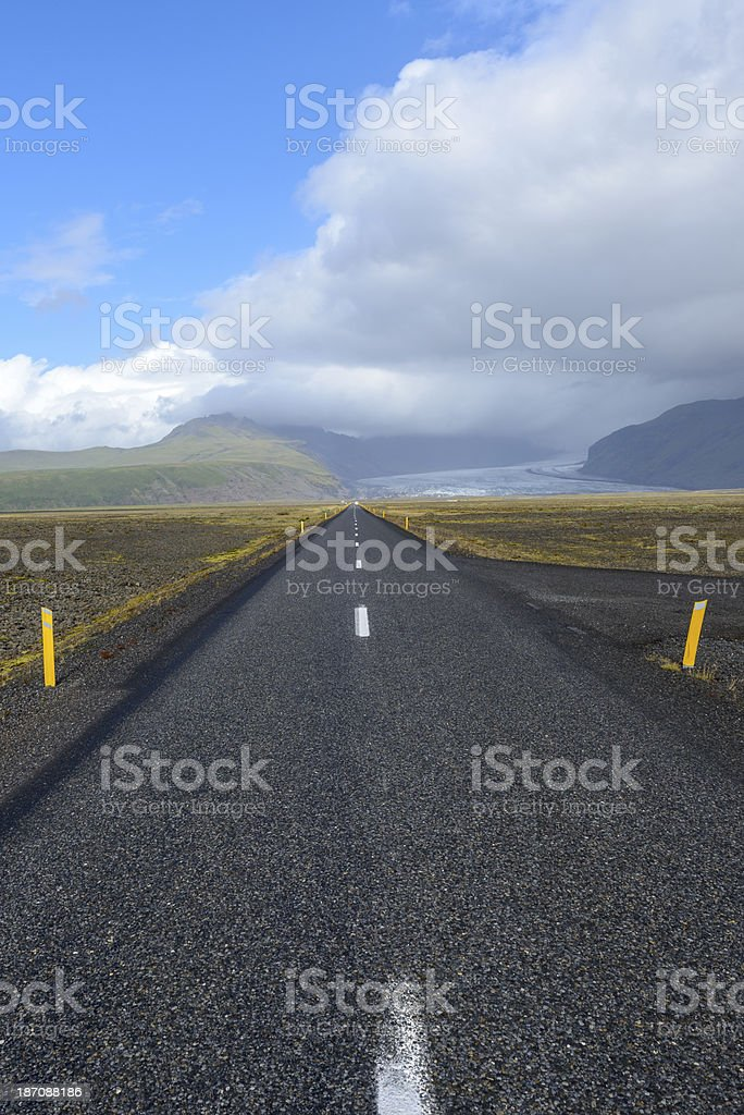 Iceland road royalty-free stock photo