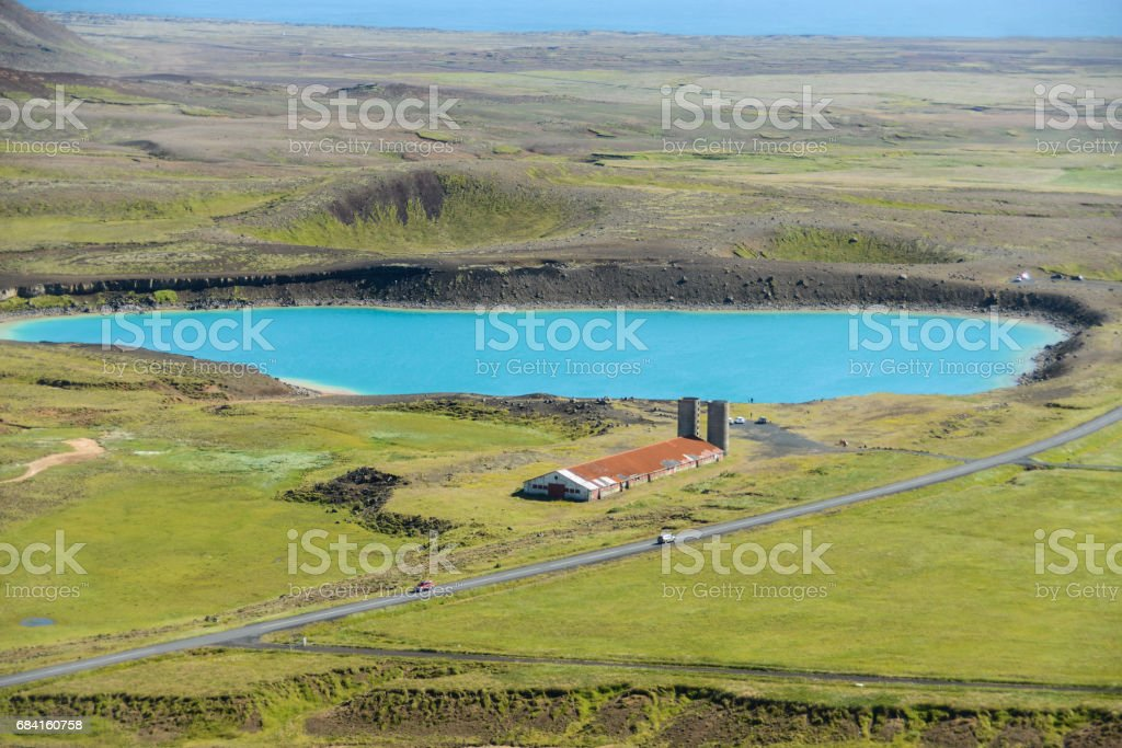 Iceland south panorma royalty-free stock photo