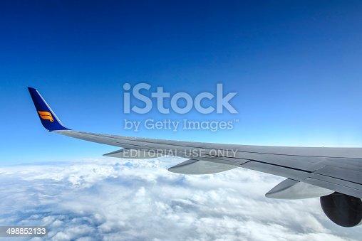 istock Icelandair airlines flying 498852133