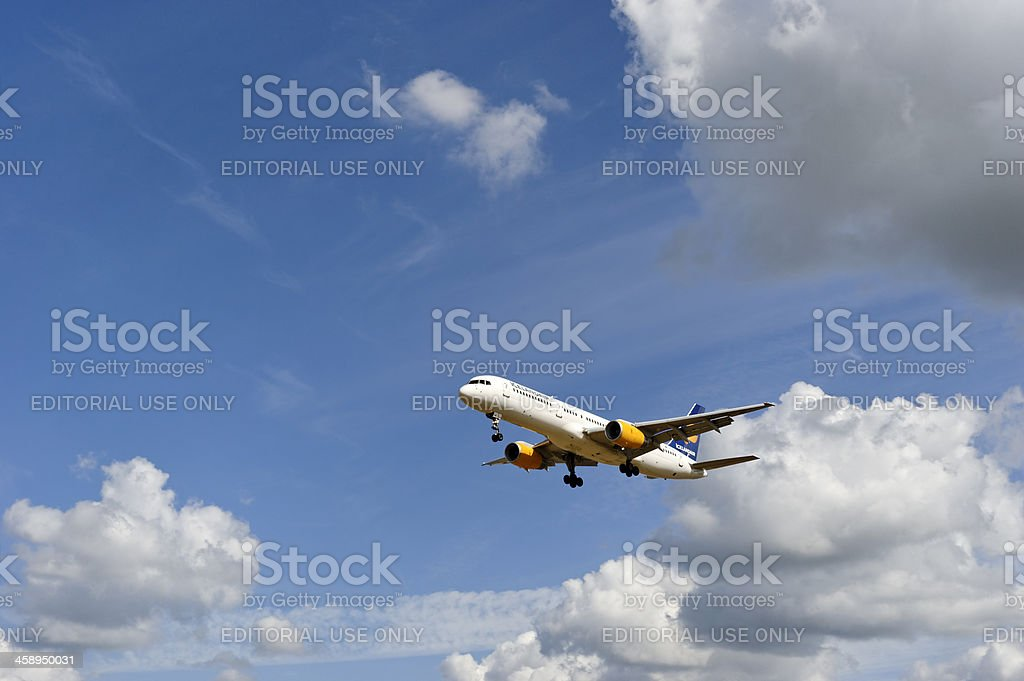 Icelandair stock photo