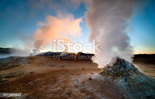 istock Icelandic sunrise 1011052642