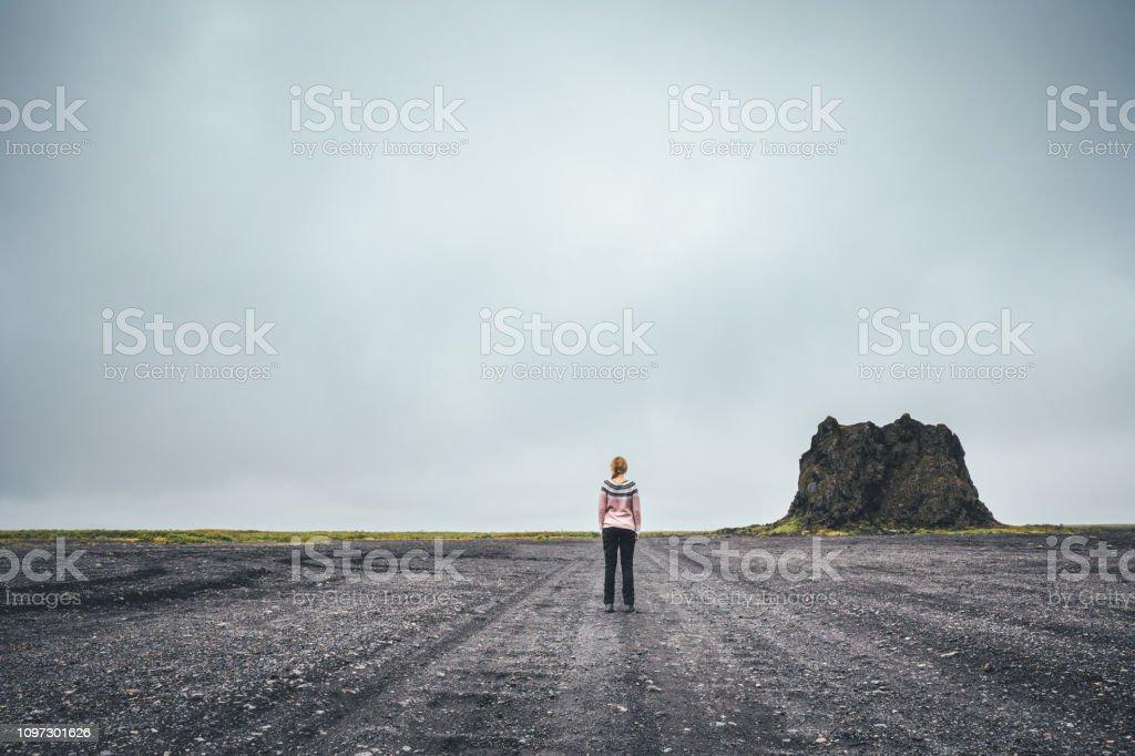 Icelandic Wilderness stock photo