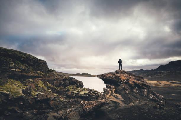Desierto de Islandia - foto de stock
