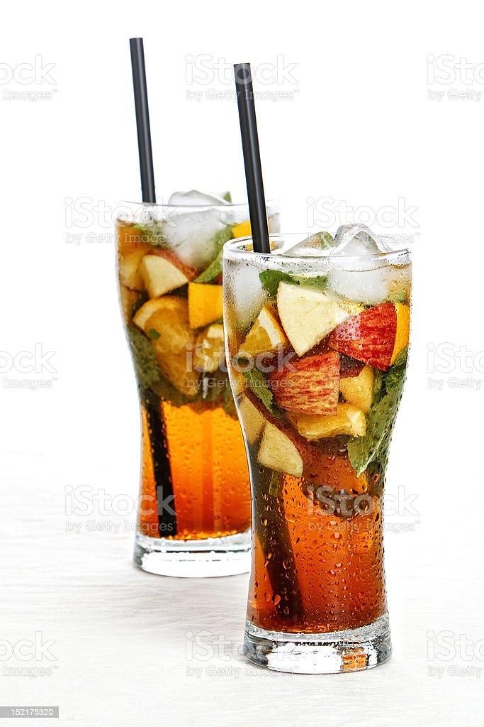 Ice-tea royalty-free stock photo