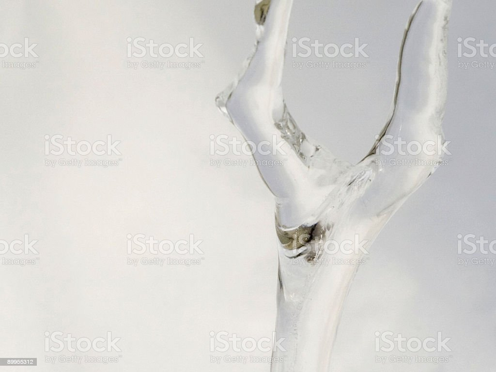 Icicle Detail stock photo