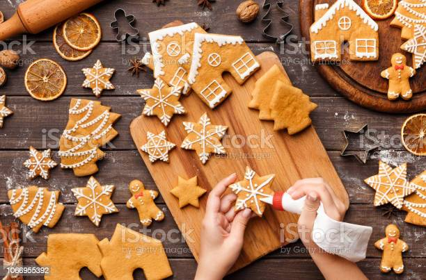 Icing process of christmas bakery unrecognizable woman decorating picture id1066955392?b=1&k=6&m=1066955392&s=612x612&h=9ounb2gwbn7xlasoxf3kqrgrwjwmugsjk2asfei8tuc=