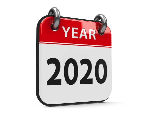 ikonenkalender 2020 jahr #2 - kalender icon stock-fotos und bilder