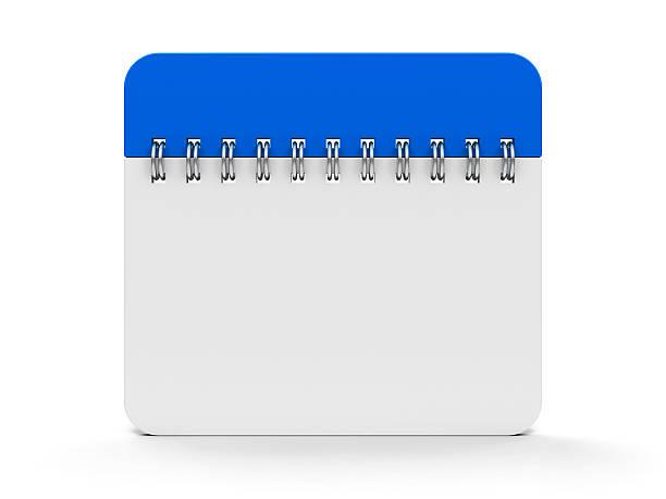 icône de calendrier spirale#2 - calendrier digital journée photos et images de collection