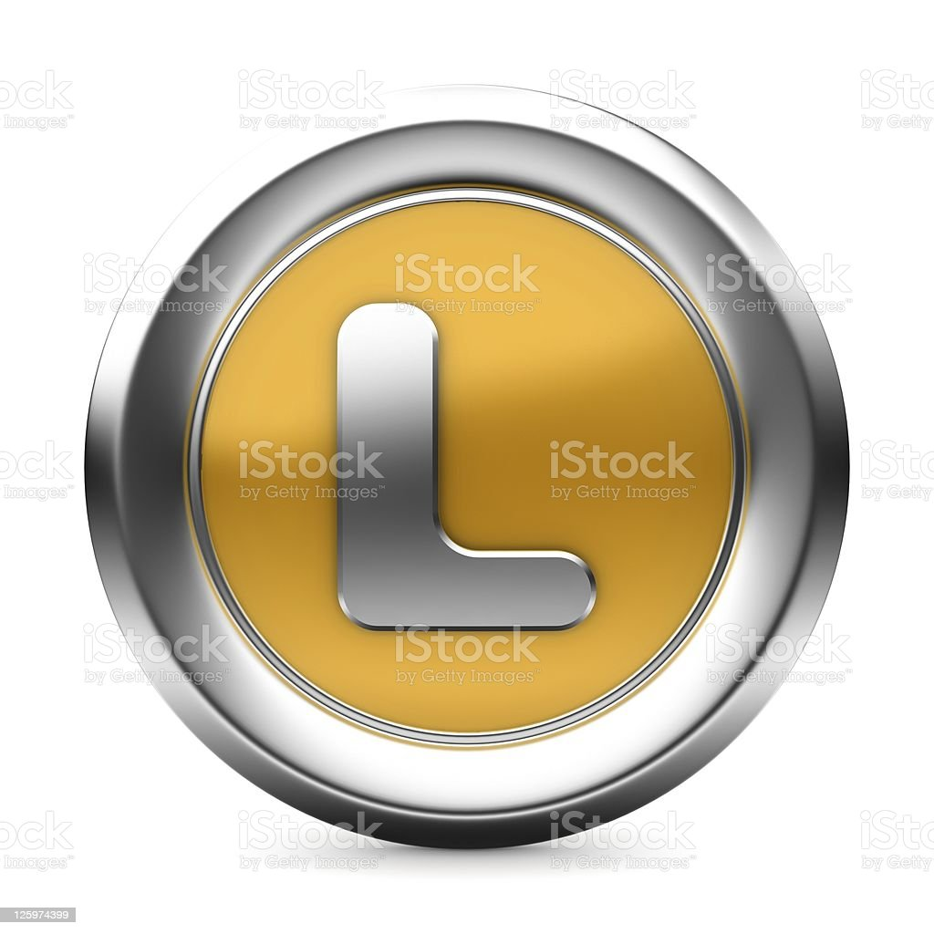 icon letter royalty-free stock photo