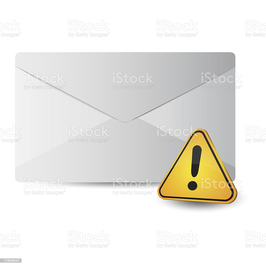 Ícone de mensagem com sinal de exclamação 2 camas de casal - foto de acervo