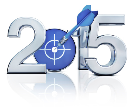 Icon Of 2015 Stock Photo - Download Image Now