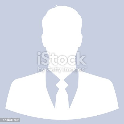istock A icon of a businessman avatar or profile pic 474001892