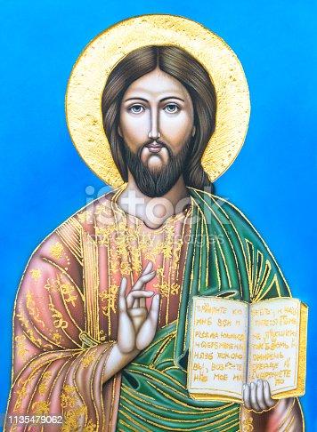 istock Icon of Jesus Christ 1135479062