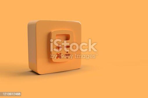 istock 3D Icon 1213612468