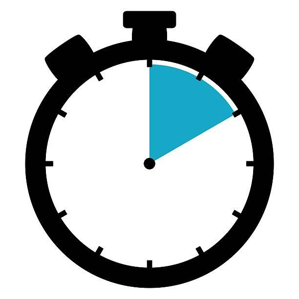 Icon Stoppuhr auf 10 Minuten 10 Sekunden 2 Stunden – Foto
