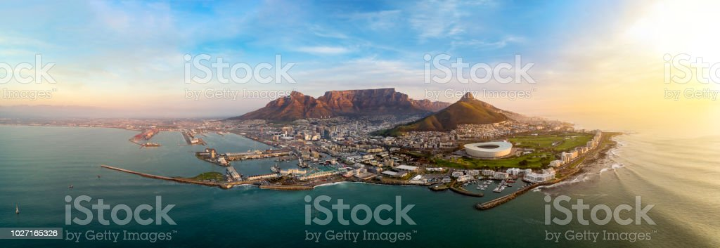 Iconic Cape Town stock photo