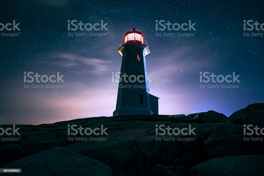 Iconic Lighthouse stock photo
