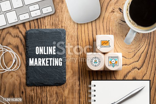 istock icons on cubes as components for successful online marketing 1139163829