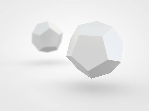 icosahedron - veelvlakkig stockfoto's en -beelden