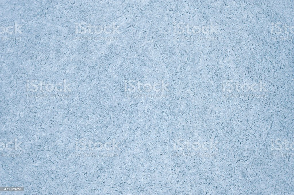 Icy blue background pattern with white smears stock photo