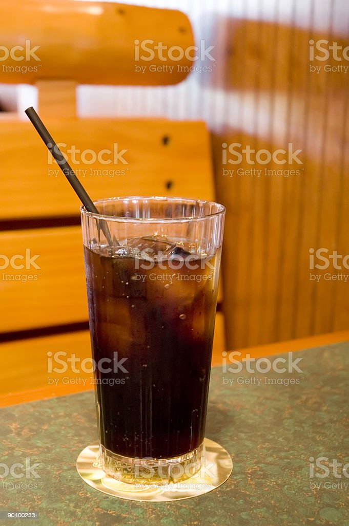Icy Cold Drink royalty-free stock photo