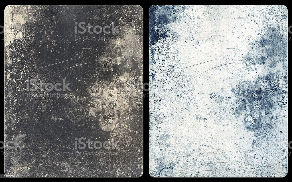 Icy Metal Backgrounds (with Clipping Paths) royalty-free stock photo