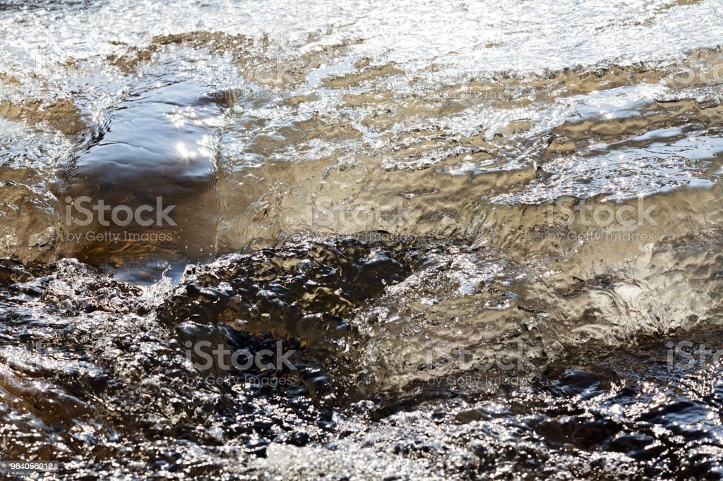 icy mountain stream - Royalty-free Beauty Stock Photo