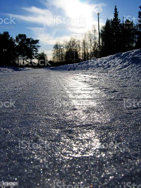 Photo of Icy  road
