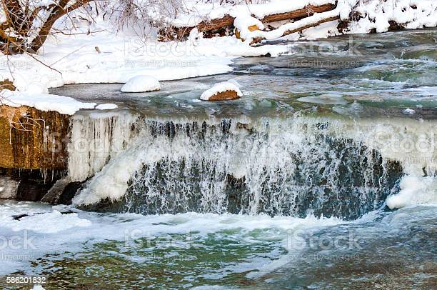 Photo of Icy waterfall
