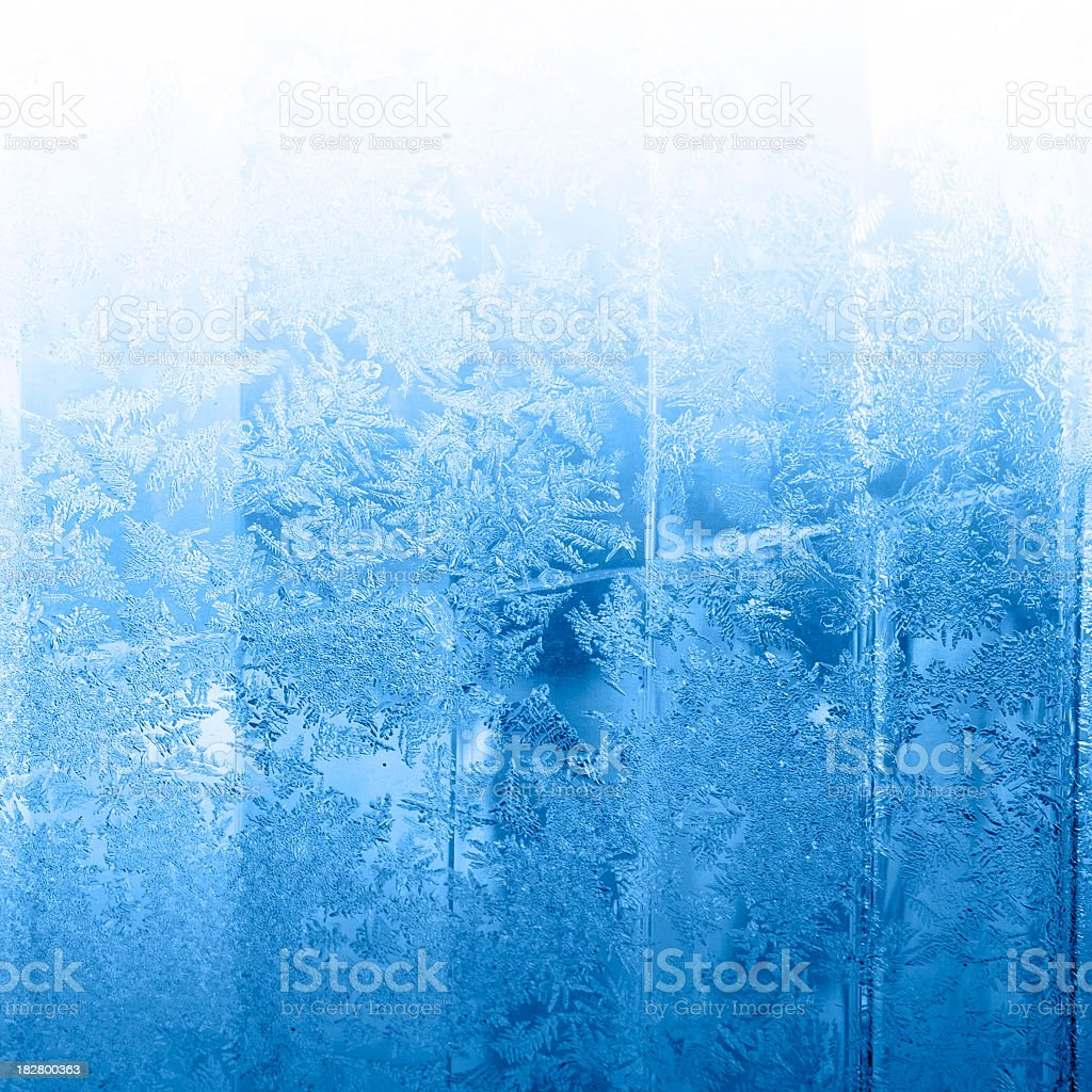 Icy winter background royalty-free stock photo