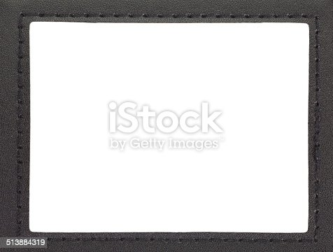 istock id card holder leather id card holder with path 513884319