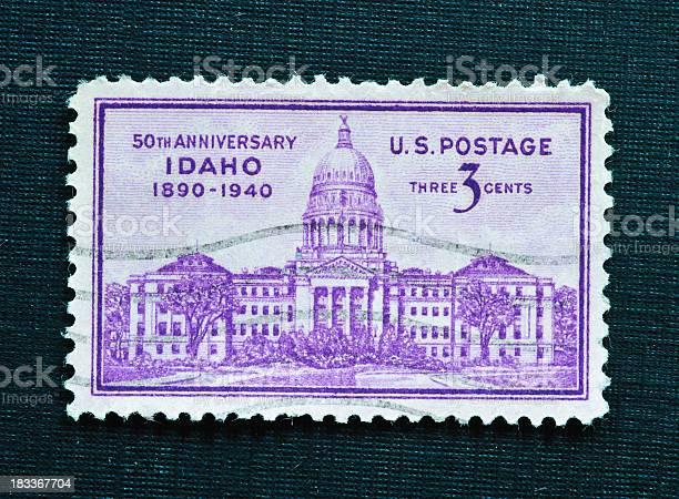 Idaho 50th Anniversary 3 cent stamp