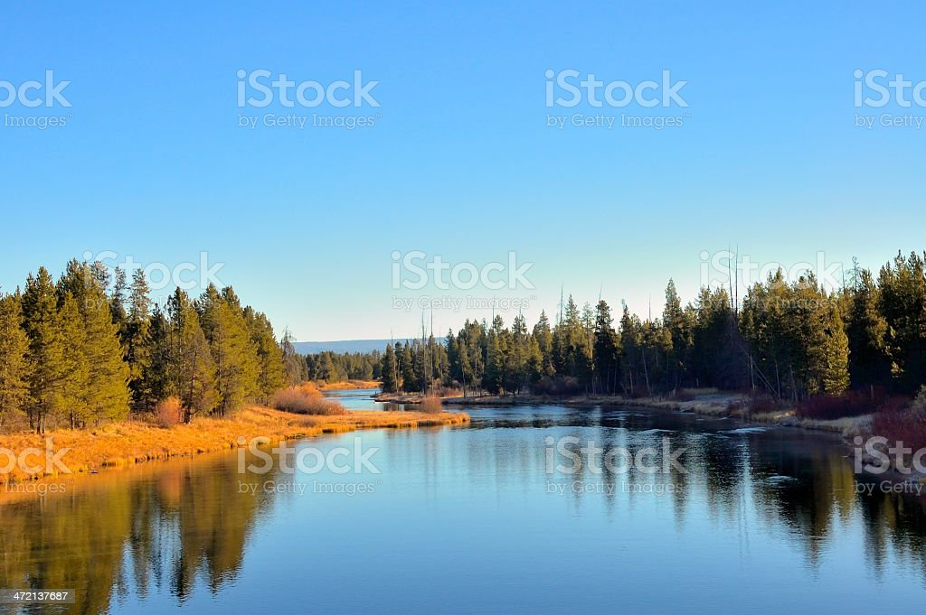 Idaho Buffalo River Scene stock photo