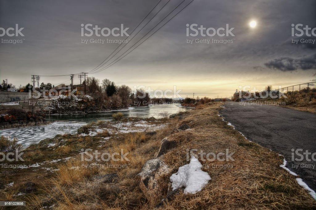 Idaho Falls USA stock photo