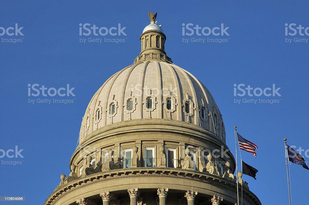 Idaho state capital - closeup stock photo