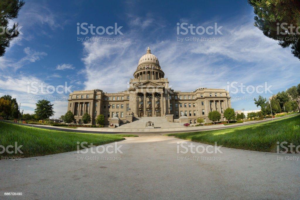 Idaho state capital stock photo