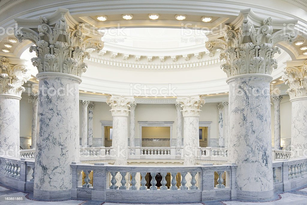 Idaho State Capitol Building stock photo