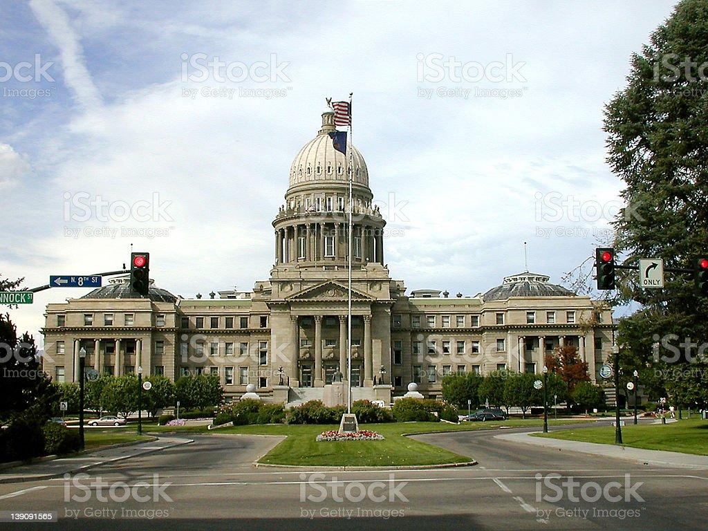 Idaho State Capitol stock photo