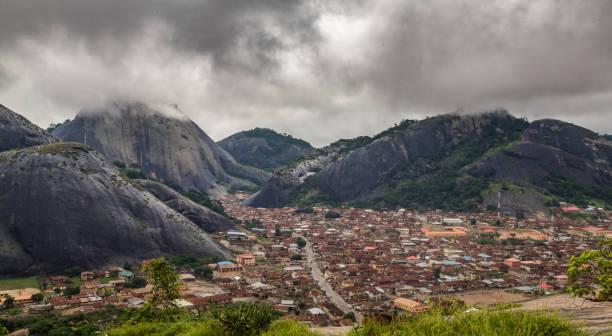 Idanre Hills stock photo