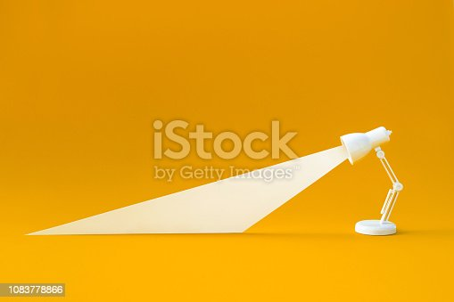 637166104 istock photo Idea and creativity concepts with lighting lamp on pastel color background.Business solution 1083778866