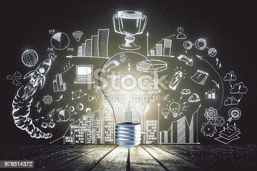 istock Idea and finance concept 978314372
