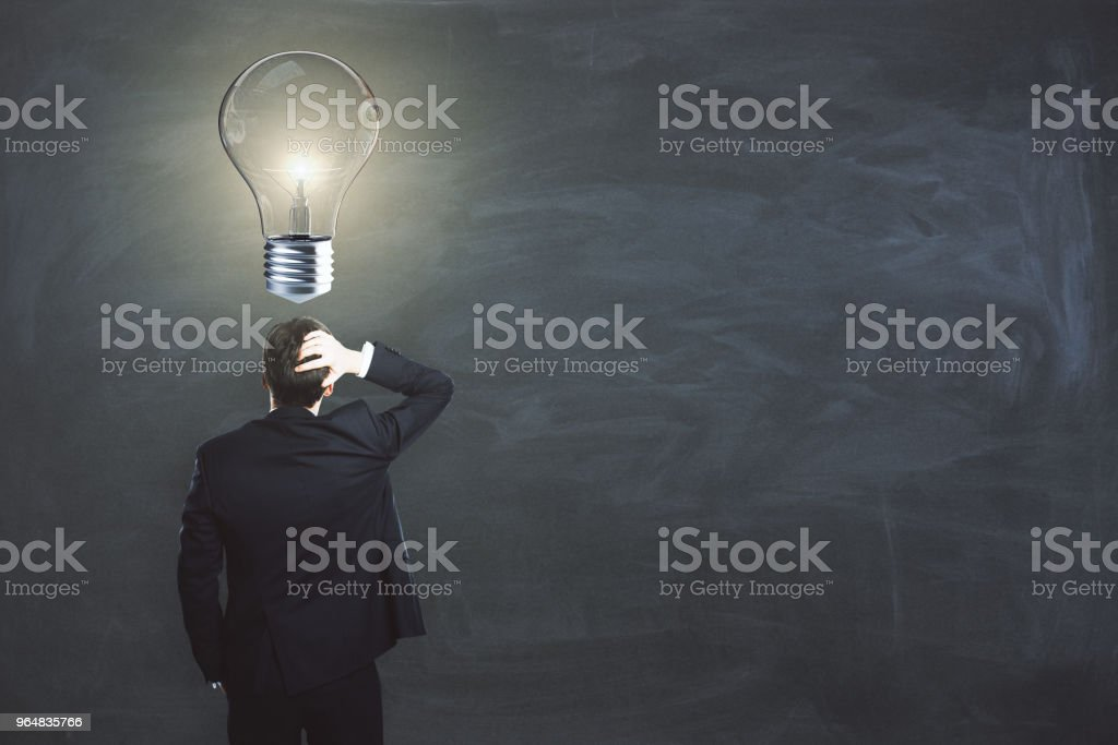 Idea and research concept royalty-free stock photo