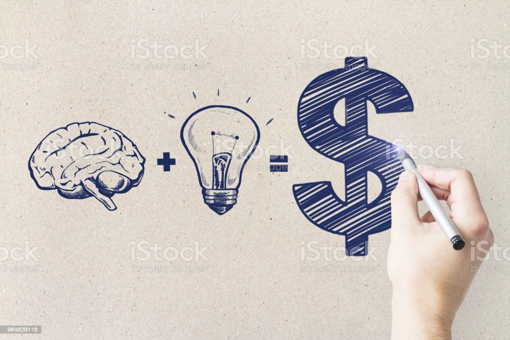 Idea and training concept royalty-free stock photo