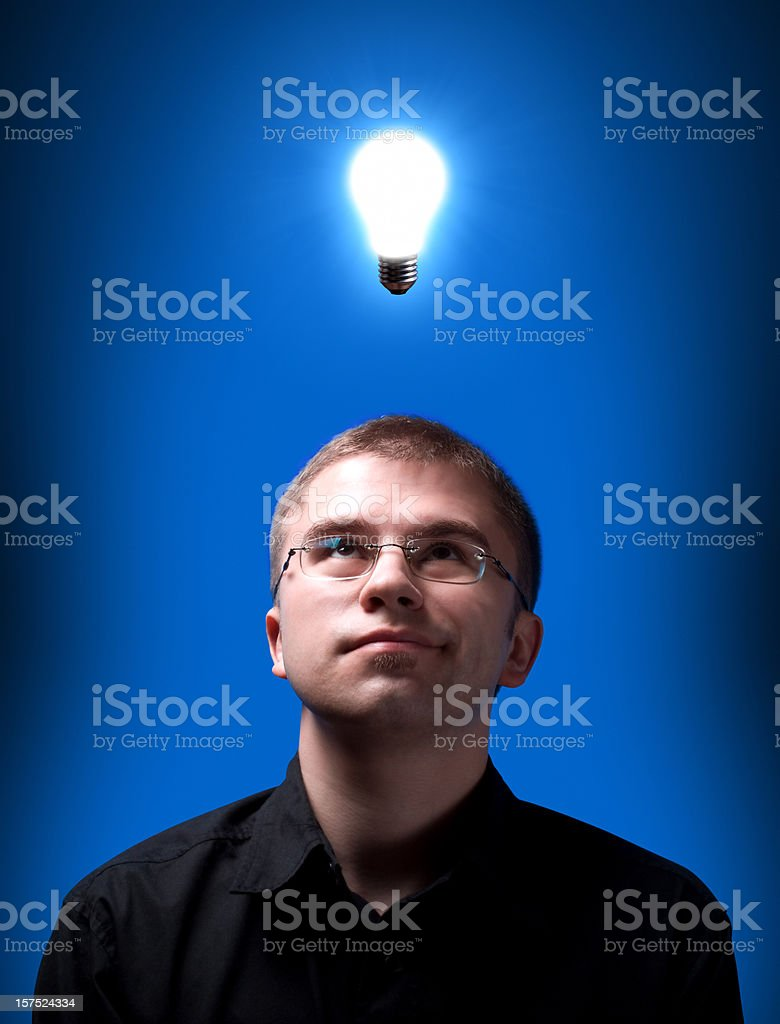 idea coming royalty-free stock photo