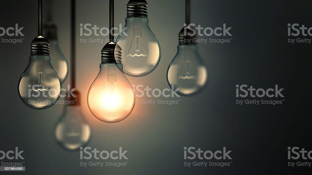 Idee Konzept-Bild – Foto