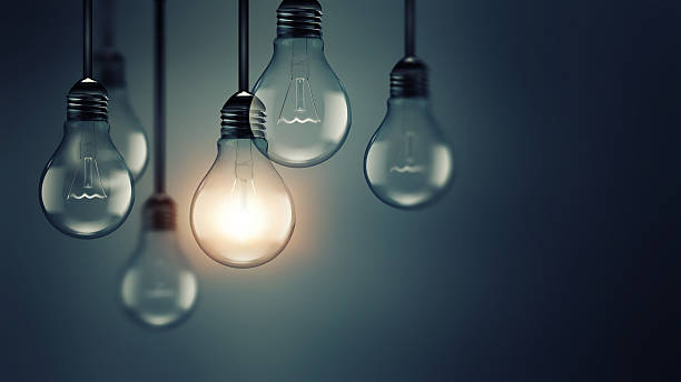 idea concept image - light bulb stock pictures, royalty-free photos & images