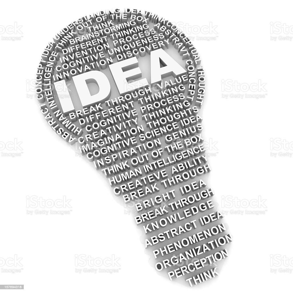 Idea concept royalty-free stock photo